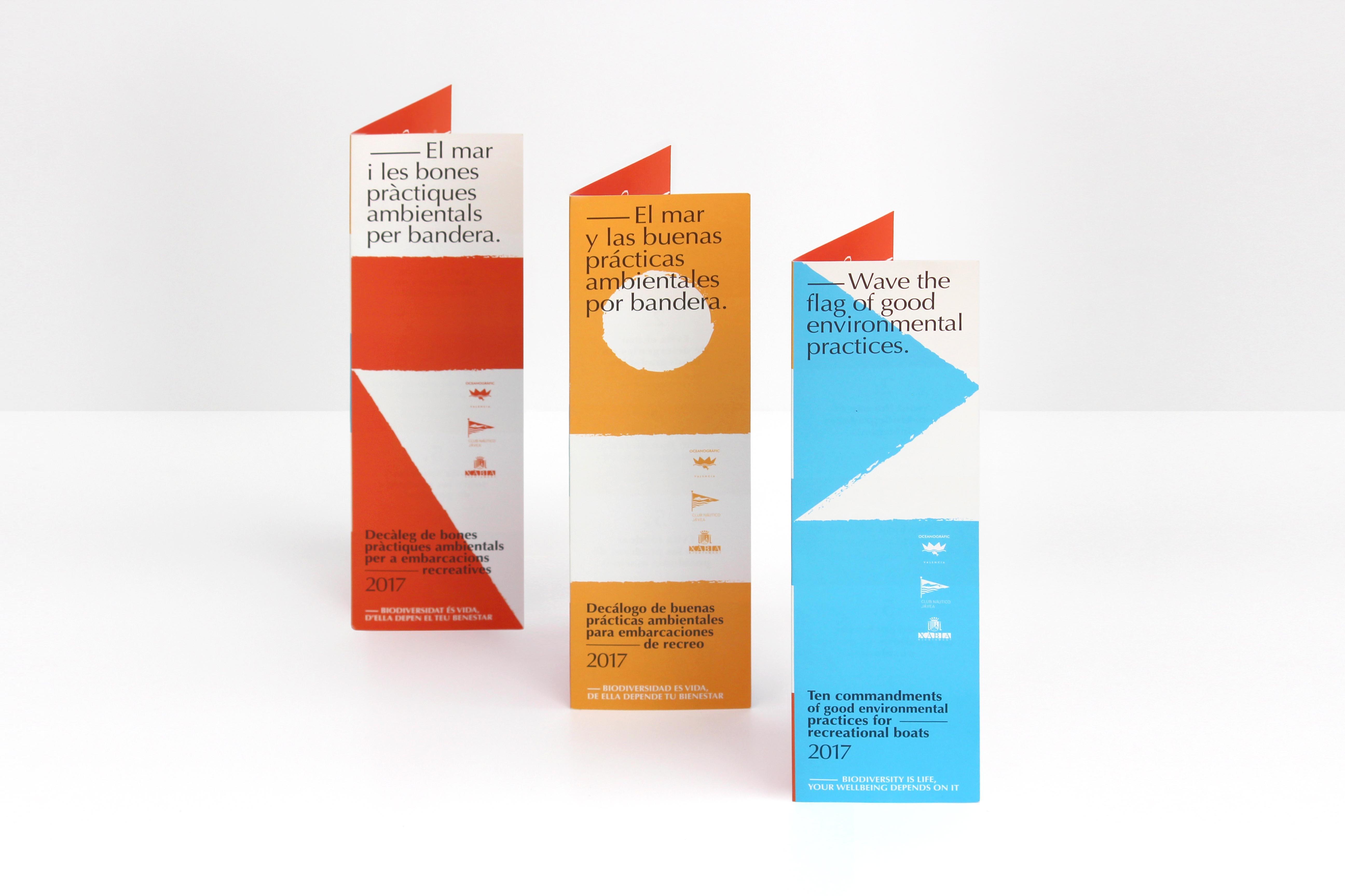 Decálogo de buenas prácticas Club Náutico de Jávea Diseño de Lujan Estudio