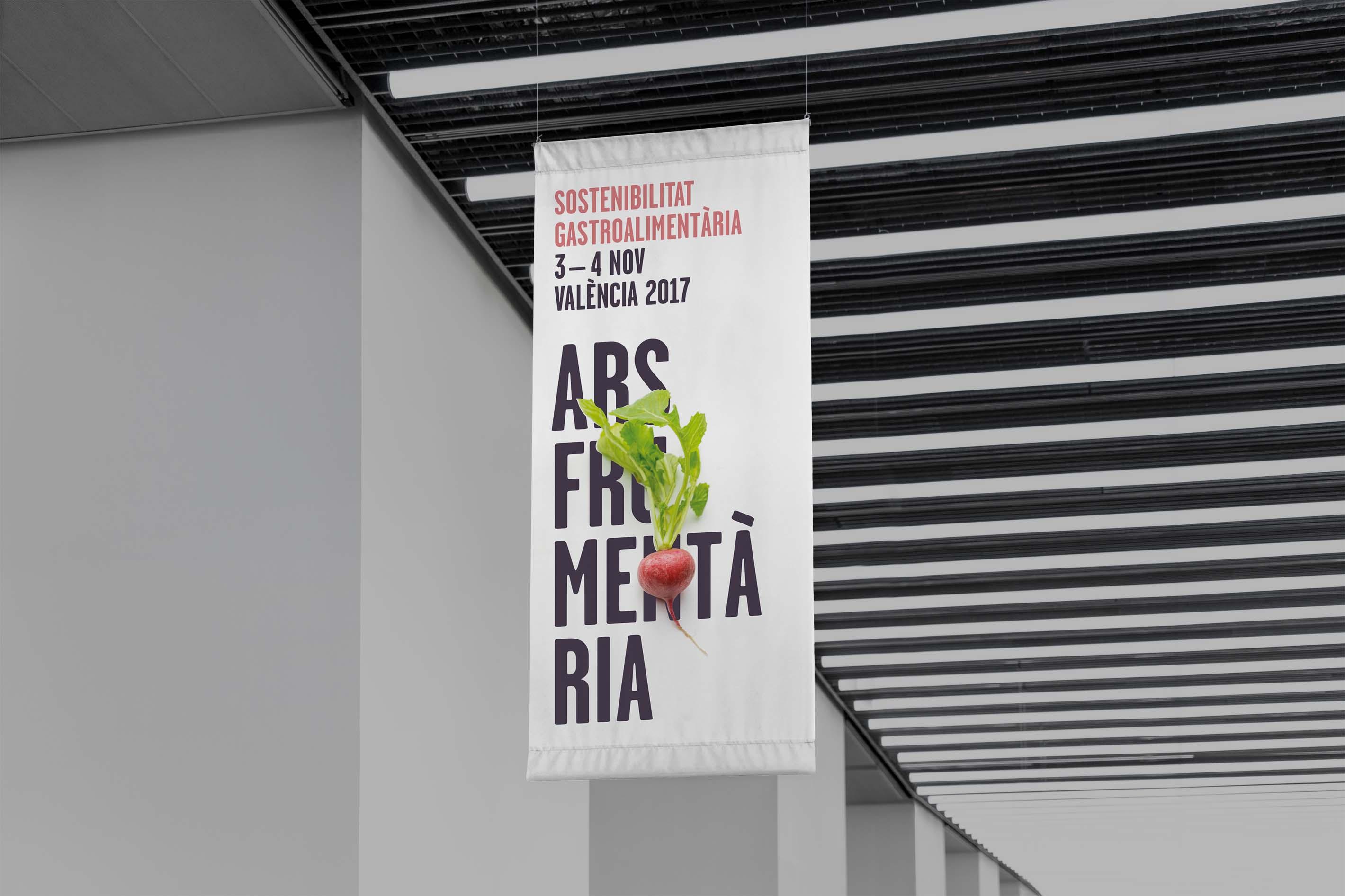 Banderola del evento Ars Frumentaria
