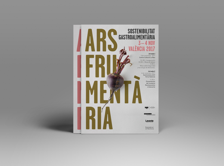 Flyr para evento Ars Frumentaria