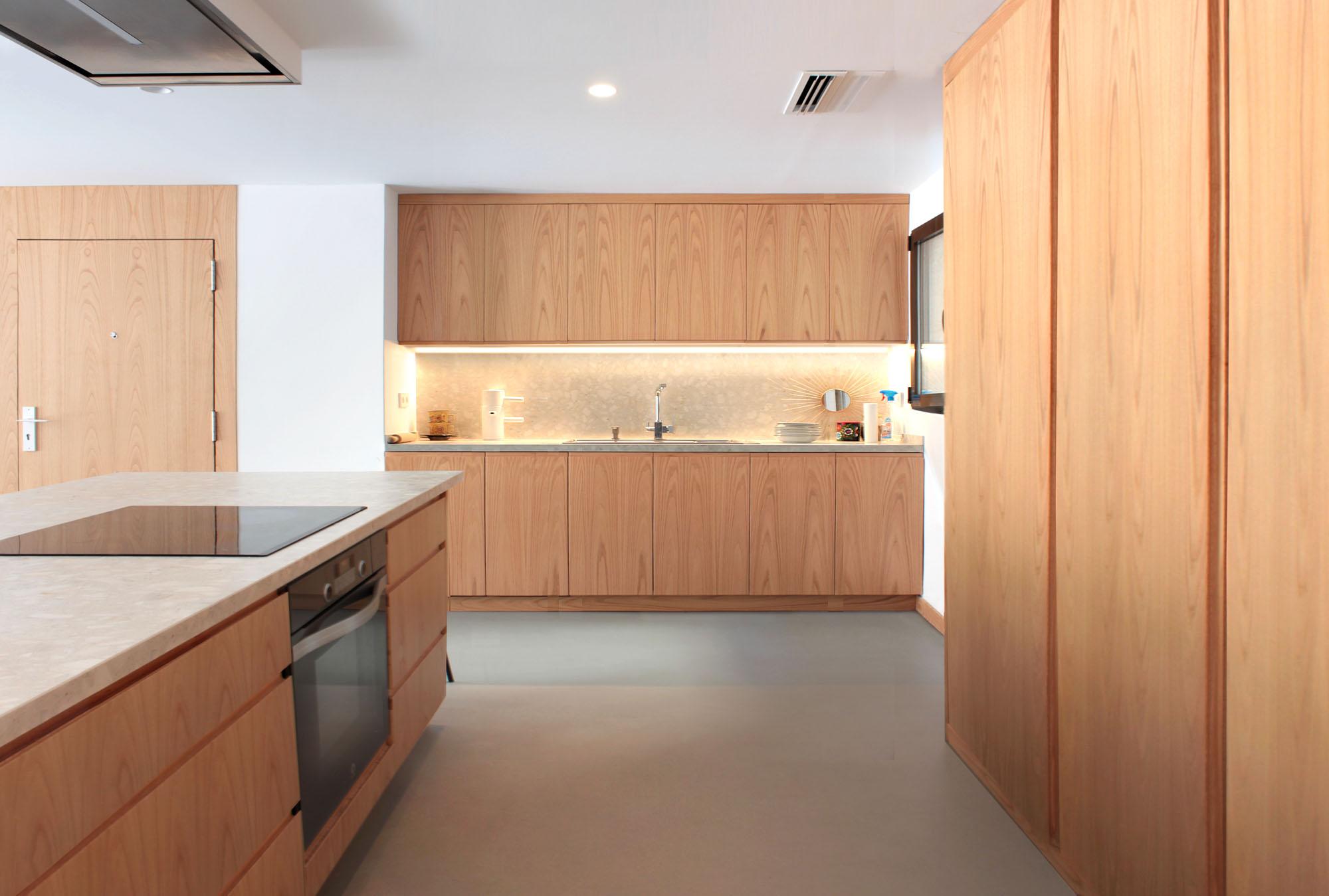 Cocina Apartamento Ciudad Roble Claro