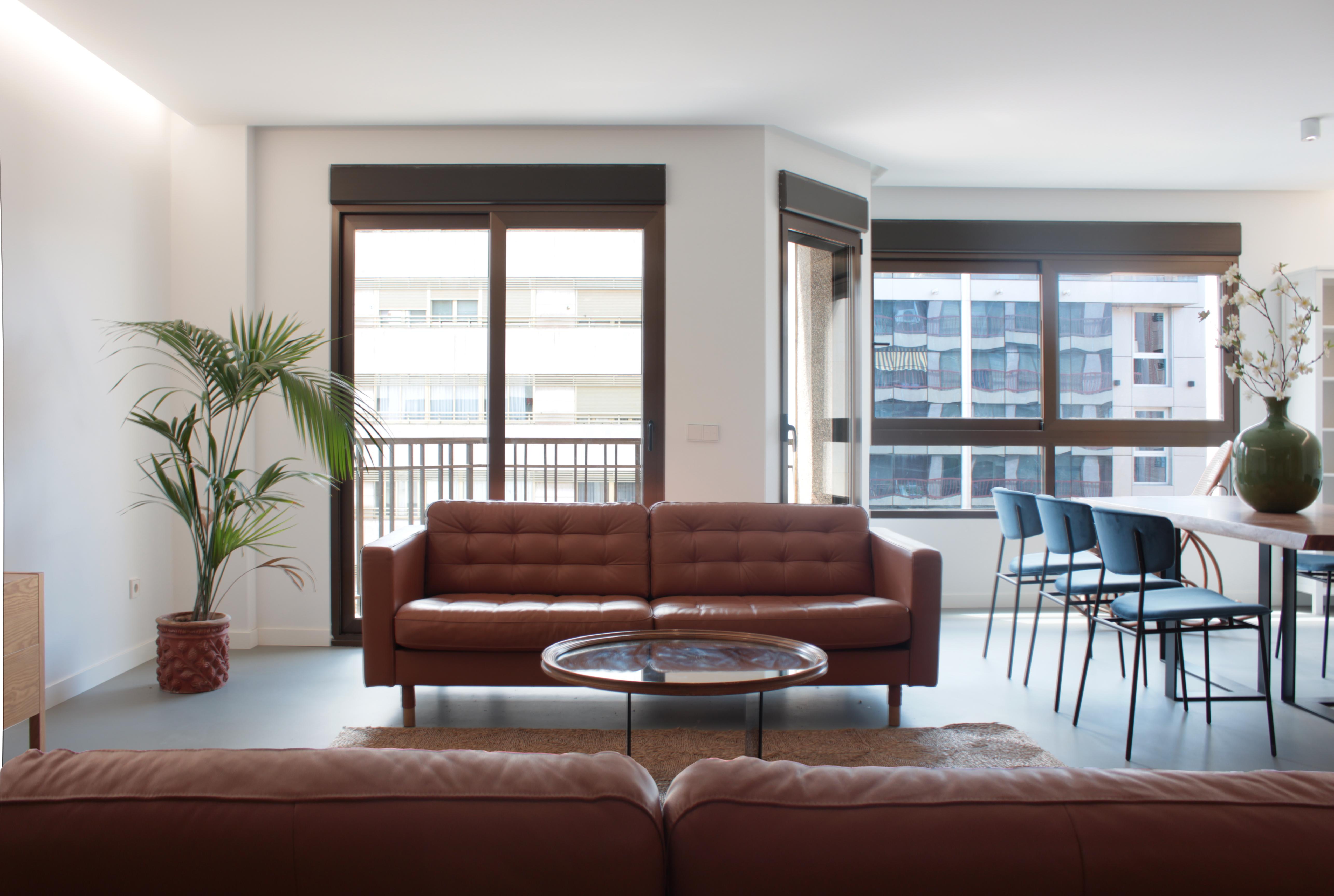 Zona común de apartamento en el centro